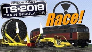 Train Simulator 2018 - Super Class 47 V.S. Jet Train (Race)