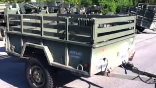 1967 Johnson 3/4 ton M101A1 Cargo Trailer on GovLiquidation.com