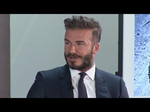 David Beckham Q&A with Michael Palin  Into the Unknown  Brazil  BBCWorldwide