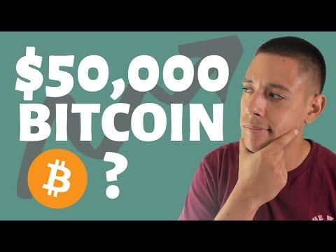 3 Fundamental Reasons Why Bitcoin Will Hit 50k