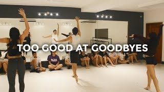 Too Good At Goodbyes - Sam Smith (Dance Video) | @besperon Choreography