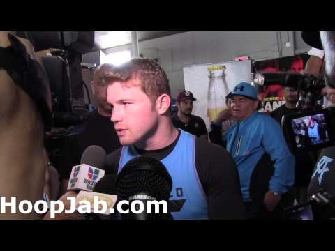 "Canelo Alvz ""I am not moving up in weight;I may stay here ..."