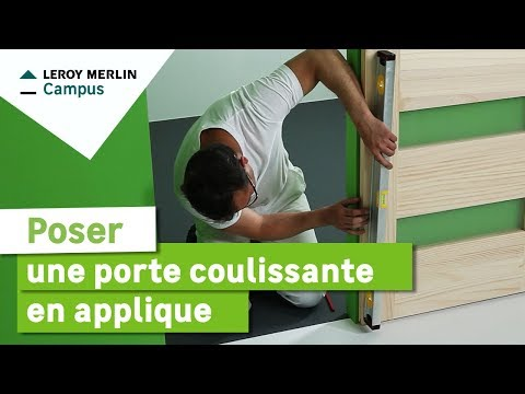 Tringle pour porte pivotante et coulissante ateliers 28 doovi - Porte isophonique castorama ...