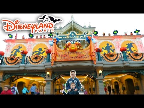 VLOG - JOURNÉE HALLOWEEN A DISNEYLAND PARIS - Attractions & Parc