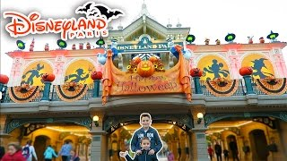 vlog journe halloween a disneyland paris attractions parc