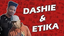 DASHIE and ETIKA mention each other on STREAM [clips]