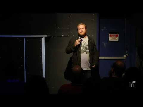 Comedian JohnMichael Bond at 8bit Comedy Joystick Gamebar