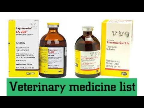 Use Of Terramycin Inj. | Veterinary Injection  List |