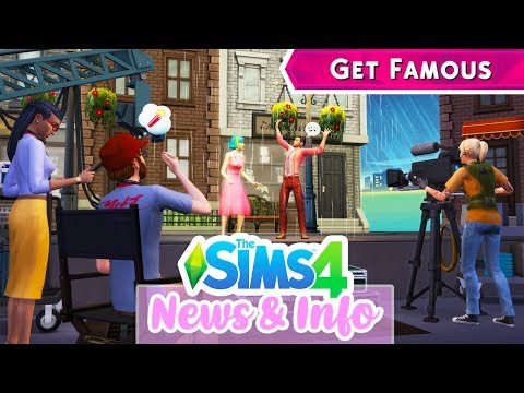 AGENCIES, FAME POINTS, SCRIPTS, SIMSTAGRAM STORIES!⭐🎥 // THE SIMS 4 GET FAMOUS BLOG | NEWS & INFO
