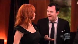 Christina Hendricks & Michael Gladis - Top Chef Masters, Season 3