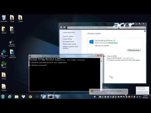 Force Windows 10 update with wuauclt.exe /updatenow command