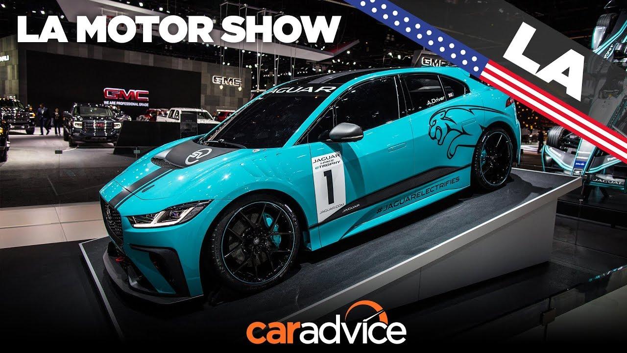 2018 Jaguar I Pace E Trophy Electric Race Car La Auto Show