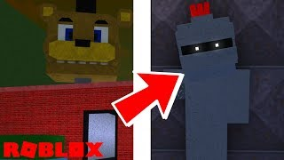 Finding The Gallant Gaming Animatronic and Badge in Roblox Ultimate FNAF Roleplay