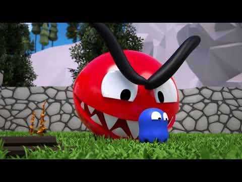 Red Pacman Vs Mini Ghost |