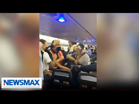 Airplane fights are getting out of control   STINCHFIELD on Newsmax