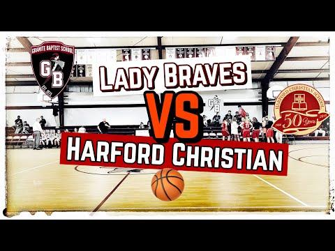 Varsity Girls ???? | Lady Braves vs Harford Christian School | Highlights from 12-17-19