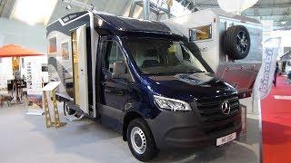 2019 Bimobil HR 380 Mercedes-Benz 419 CDI - Exterior and Interior - Caravan Show CMT Stuttgart 2019