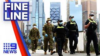 Coronavirus: New fines for Victorians breaching isolation | 9 News Australia