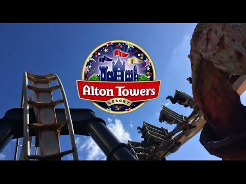 Alton Towers Vlog April 2018