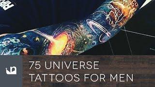 75 Universe Tattoos For Men