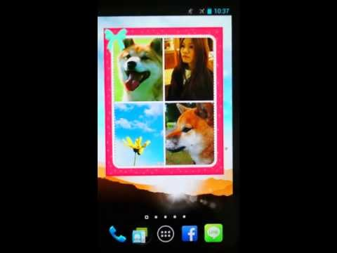 Animated Photo Frame Widget + -- The Android Best Photo SlideShow Widget