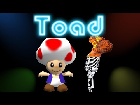 (Full Song) Toad Sings Don't Stop Believing