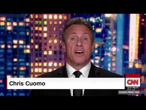 """Chris Evans is interviewed on Chris Cuomo's show to talk about his """"A Starting Point"""" project."""