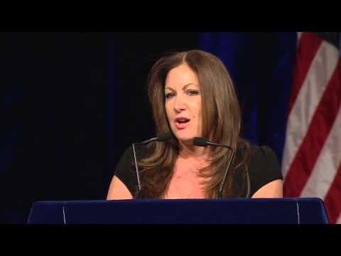 Progressive radio talk show host Leslie Marshall addresses 2014 Teamsters Unity Conference