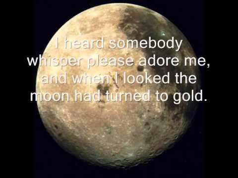 Frank Sinatra-Blue Moon (Lyrics)