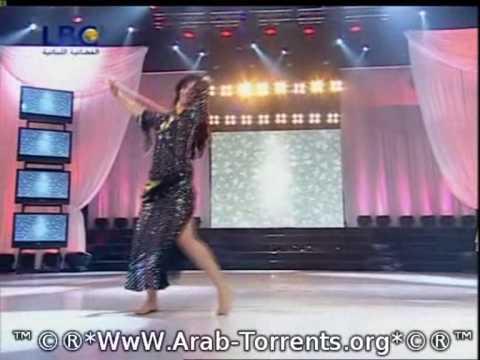 Hizzi Ya Nawaem 1 - Ep. 5 - Estelle - ۱ هزّي يا نواعم: Estelle dances with cane. Raks Al Asaya.