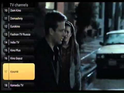 Russian iptv with NTV, TNT and Russia 1