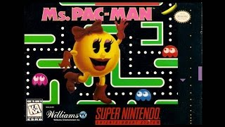 SNES-Longplay-Ms. Pac-Man (U)