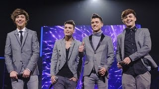 Union J sing Carly Rae Jepsen's Call Me Maybe - Live Week 7 - The X Factor UK 2012