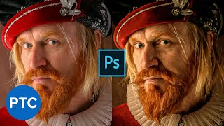 Oil Painting Effect From Your Photos - Photoshop Mixer Brush Technique | 90-Second Tip #20