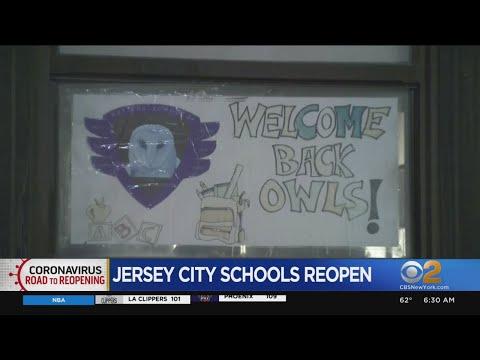 Jersey City Public Schools Reopen