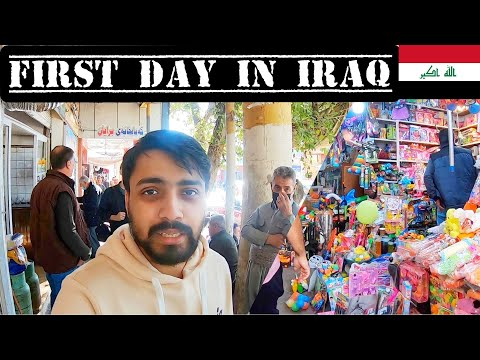 MY FIRST DAY IN IRAQI KURDISTAN 🇮🇶