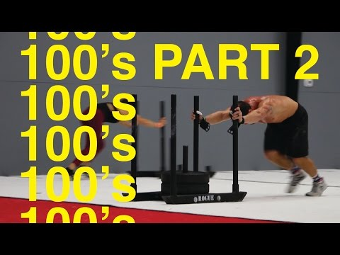 Part 2 - 100's workout - Rich Froning, Danica Patrick, & Ricky Stenhouse