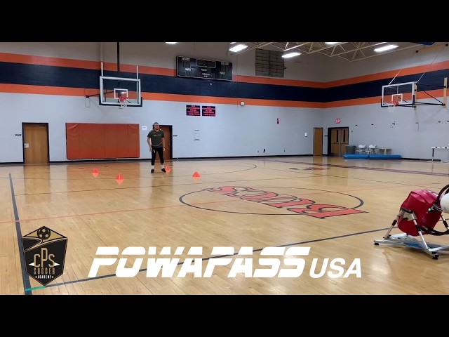 CPS Soccer Academy using the Powapass
