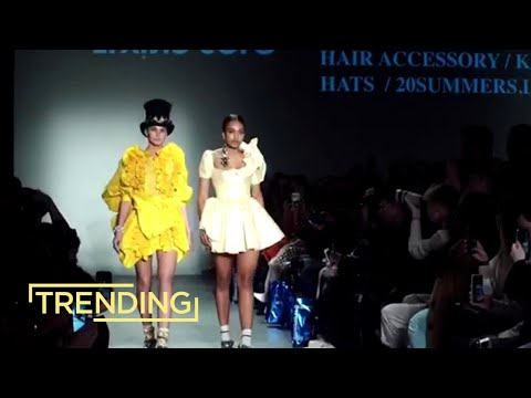 Israeli Designer Makes A Statement At New York Fashion Week 2020