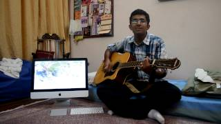 Na hai ye pana on guitar(movie-Jab we met)(actor-shahid/Kareena);romantic bollywood song