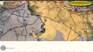 Обзор карты боевых действий в Сирии и Ираке от 10 01 2016г