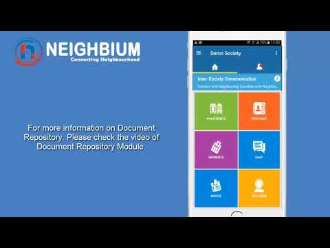 Admin view Society Accounts Module Demo - Apartment and Housing Society Management App