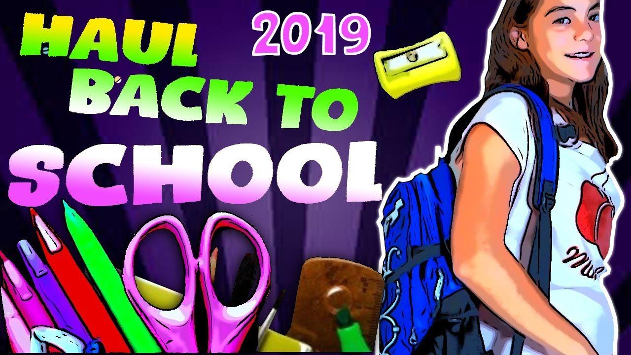 IL MIO HAUL BACK TO SCHOOL 2019 in 2^ MEDIA - Silvia Mungiello