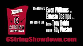 Ewen Williams vs  Ernesto Ocampo - 6-String Showdown (Campus Jax) - musicUcansee.com