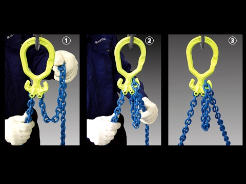 Unique Chain Slings - Adjust The Length To Your Lifting Purpose