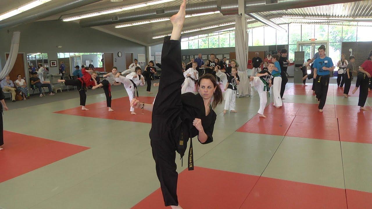 Tae kwon do kicks - 2 part 2