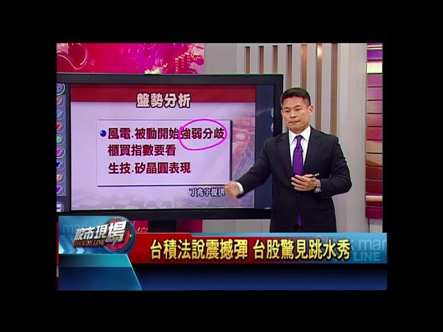 【股市現場-非凡商業台鄭明娟主持】20180420part.3(丁兆宇)