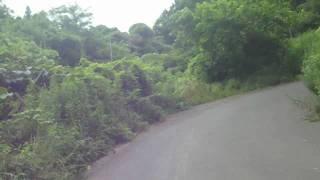 長野県の松代にある皆神山を皆神神社まで上っています。皆神山ピラミッ...
