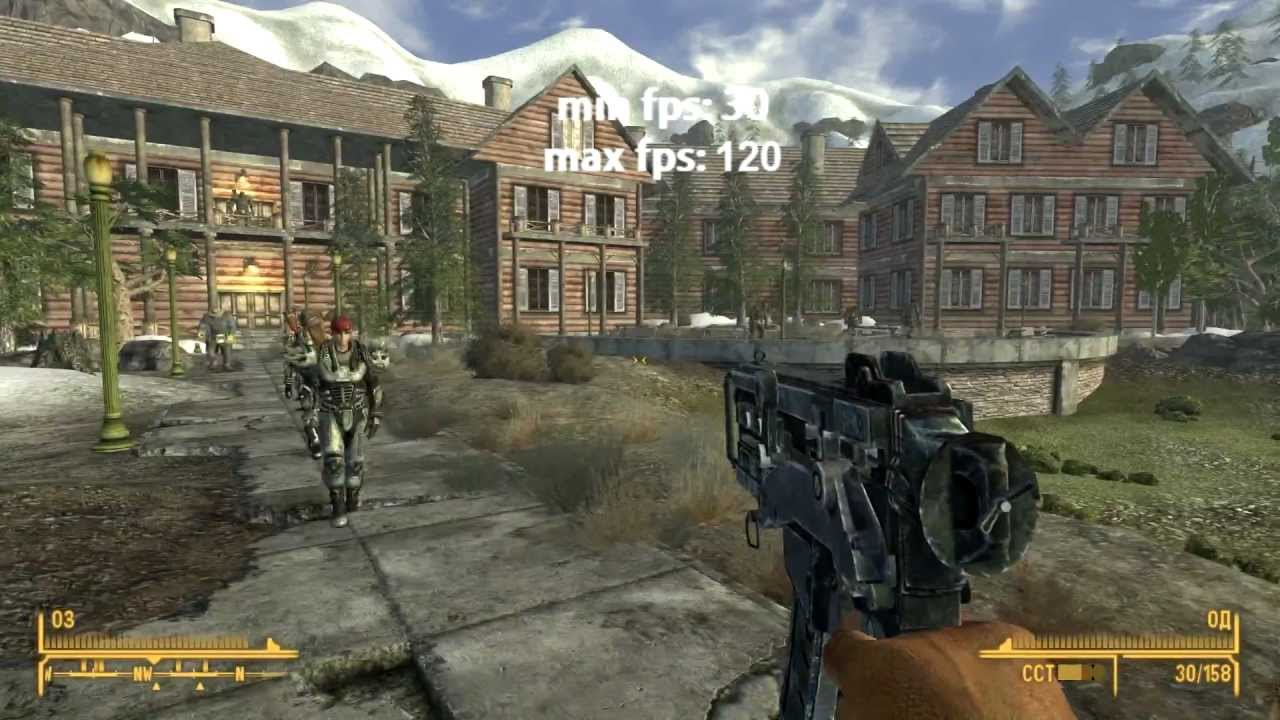 hd] fallout new vegas gameplay maxed out | gtx 580 (i5 2500) - youtube