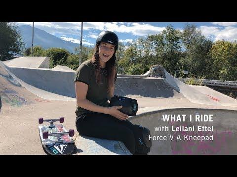 What I Ride - Leilani Ettel - TSG Force V A Kneepad